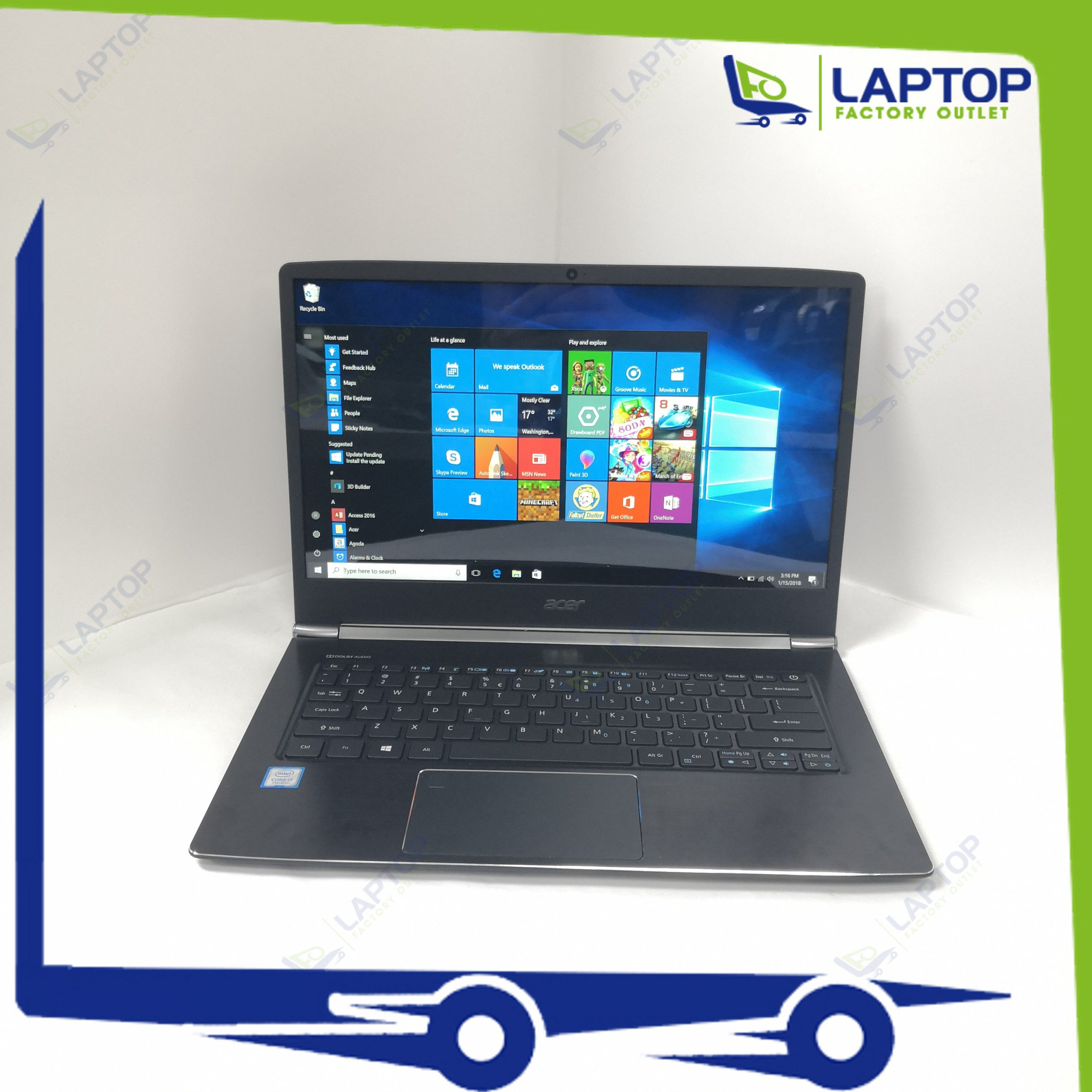 ACER Swift 5 SF514-51 (i7-7/8GB/512GB) [Preowned]