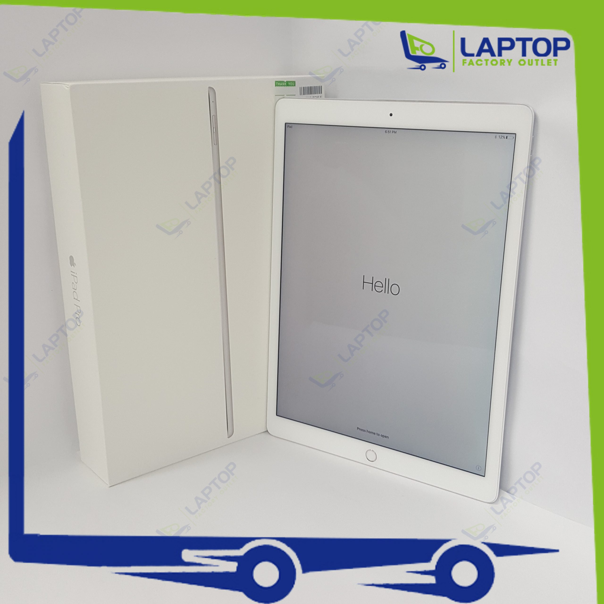 APPLE iPad Pro 12.9 (WiFi) 32GB Silver [Preowned]
