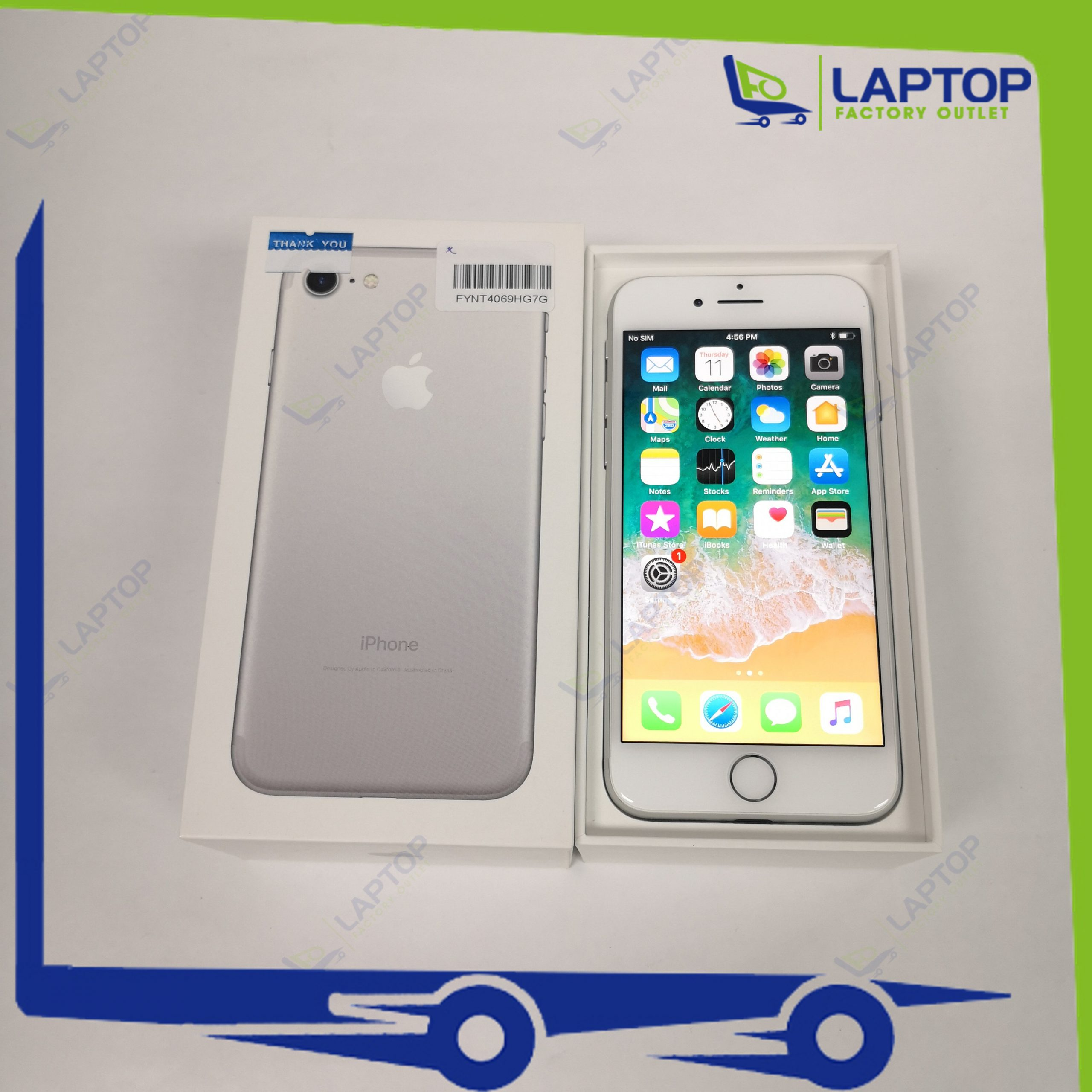 APPLE iPhone 7 32GB Silver [Preowned]