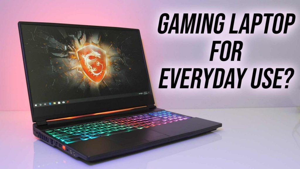 Gaming laptop used