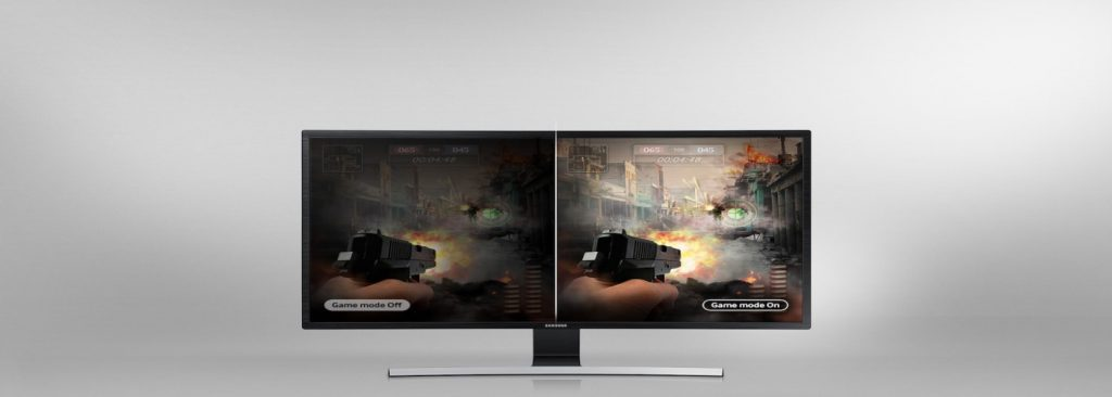 curved monitor image