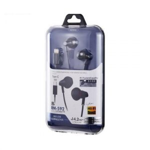 Remax Type C Earphone RM 592 2