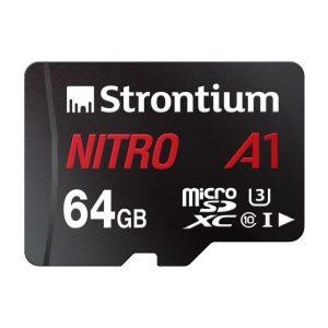 Strontium SRN64GTFU3A1A 64GB SD card 1